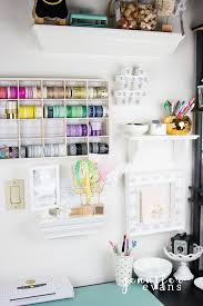 Craft Room Ideas On A Budget - washi tape storage create often