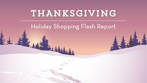shopping flash report mobile wins thanksgiving day revenue