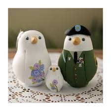 bird wedding cake toppers personalised bird wedding cake toppers with a kid