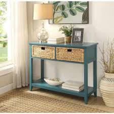 Console Entry Table Magnificent Blue Console Table With 950245 Coaster Teal Blue