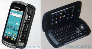 android phone with keyboard lg genesis for us cellular is a two screened clamshell droid with
