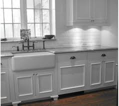 farmhouse kitchen cabinets all white and traditional this