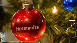 imagenes de navidad hermana felicitaciones de navidad para hermana su nombre en el globo de