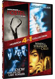 amazon com 4 in 1 horror collection hostel hollow man i know