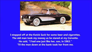 the corvette song the one i loved back then the corvette song george jones with