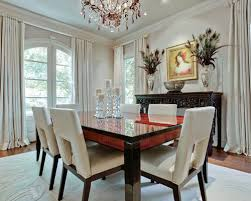 White Leather Dining Chairs Houzz - White leather dining room set