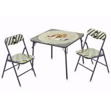 Folding Outdoor Table And Chairs Metal Kids U0027 Table U0026 Chair Sets You U0027ll Love Wayfair