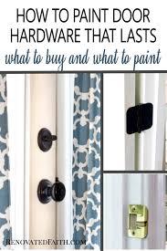 how to spray paint kitchen handles how to spray paint door knobs that last refinishing door