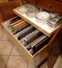 kitchen drawers ideas top 72 charming pull out cabinet organizer for pots and pans