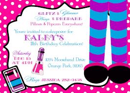 Mary Kay Party Invitation Templates Simple Spa Birthday Party Invitations Printable Birthday Party