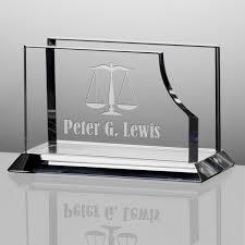 personalized black acrylic lawyer name nameplate