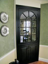 black curio cabinet with glass doors best home furniture decoration