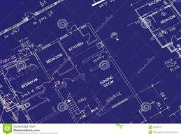 19 blue prints of houses house blueprint royalty free stock