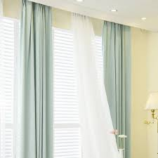 Blue And Lime Green Curtains Lime Green Polyester Jacquard Contemporary Curtains For Living Room