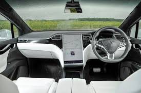 tesla inside 2017 tesla model x suv review 2016 parkers