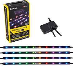 amazon pro amazon com corsair cl 9011109 ww lighting node pro computers