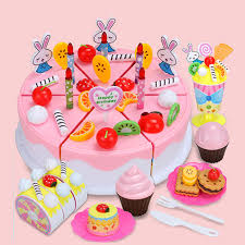 diy fruitcake 87pcs cookware fruit birthday cake children