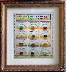hoshen stones picture of hoshen stones kabbalah chakra 12 breastplate