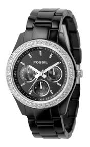 best black friday deals 20015 love this fossil women u0027s es2157 black resin bracelet black glitz