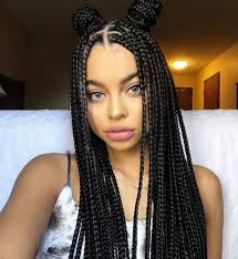 what kind hair use boxbraids 60 totally chic and colorful box braids hairstyles to wear