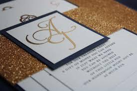 wedding invitations gold coast navy blue gold foil glitter wedding invite pocadot invitations