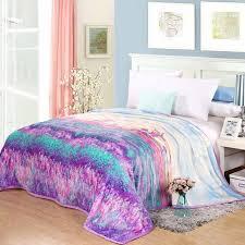 canap molletonn coloré impression jette couverture molleton couvre lit canapé plaids