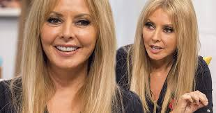 carol vorderman looks incredibly youthful and