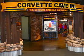 where is the national corvette museum located corvette cave in exhibit national corvette museum