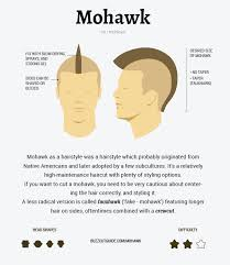 haircut razor sizes mohawk how to guide