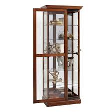 Curio Cabinet Corner Curio Cabinet Pulaski Corner Curio Cabinet In Dark Wood Cabinets