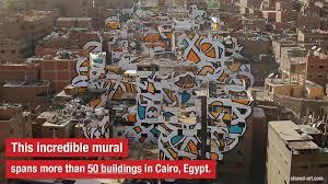 Sharpie Wall Mural This Massive Mural Showcases A Cairo Community S Inner Beauty