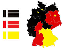 Flag Black Red Yellow Map Of Germany Based On The Flag Type Black U2014 Tricolors Red