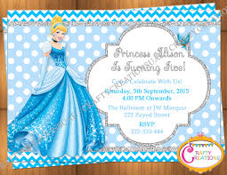 Princess Themed Birthday Invitation Cards Best 25 Cinderella Invitations Ideas On Pinterest Cinderella