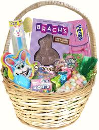 easter gift baskets for adults traditional easter candy gift basket