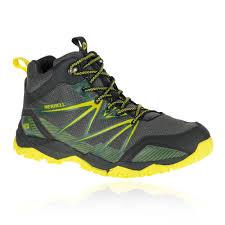 good price mens merrell capra rise mid waterproof trail hiking