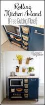 37 brilliant diy kitchen makeover ideas rolling kitchen island