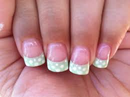 cute summer french tip design nail designs pinterest nail