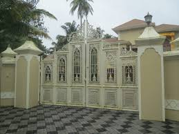 Attractive House Designs by Attractive Top Designs For Bungalow Gate With Modern House Design