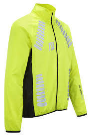 fluorescent waterproof cycling jacket elite cycling project men u0027s cyclone waterproof cycling jacket hi