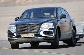 suv bentley 2016 2016 bentley bentayga suv spied testing in death valley front end