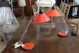 john stephens mid century desk lamps