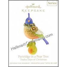 2011 partridge in a pear tree twelve days of 1