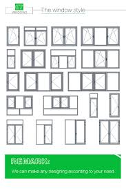 Awning Window Prices High Quality Pvc Casement Window Exterior Pvc Window Prices Swing