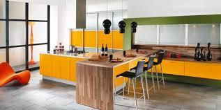 cuisine jaune et verte photo 7 25 des suspensions noires au