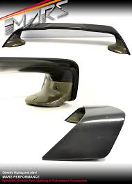 mitsubishi evo spoiler evolution x style abs plastic rear trunk wing spoiler for mitsubishi