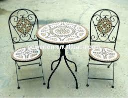 outdoor mosaic bistro table mosaic bistro table set mosaic outdoor table and chairs outdoor