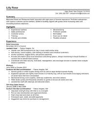 resume exles for restaurant resume exles for restaurant geminifm tk