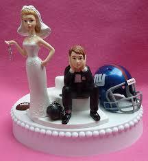 wedding cake ny wedding cake topper new york giants ny football themed by wedset