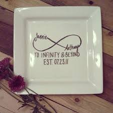 painted wedding plates personalized 11 inch personalized wedding plate happy design vision fleet