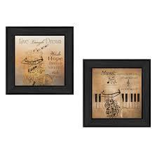 trendy home decor stores robin lee vieira u0027music u0027 framed print art by trendy decor 4u